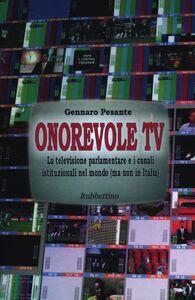 Onorevole TV. La televisione parlamentare e i canali istituzionali nel mondo (ma non in Italia)