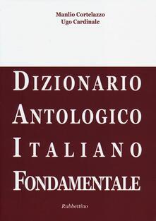 DAIF. Dizionario antologico italiano fondamentale.pdf