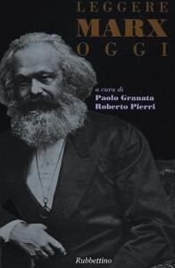 Leggere Marx oggi