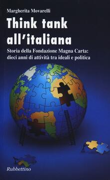 Promoartpalermo.it Think-tank all'italiana. Storia della Fondazione Magna Carta: dieci anni di attività Image