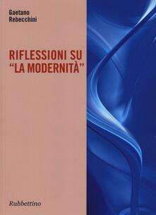 Librisulrazzismo.it Riflessione su «La modernità» Image