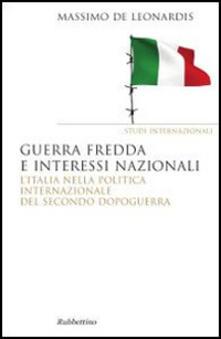 Radiospeed.it Guerra fredda e interessi nazionali. L'Italia nella politica internazionale del secondo dopoguerra Image