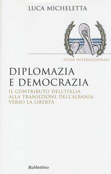 Parcoarenas.it Diplomazia e democrazia. Il contributo dell'Italia alla transizione dell'Albania verso la libertà Image