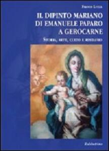 Il dipinto mariano di Emanuele Paparo a Gerocarne. Storia, arte, culto e restauro