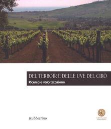Osteriacasadimare.it Del Terroir e delle uve del Cirò. Ricerca e valorizzazione Image