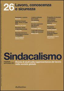 Sindacalismo (2014). Vol. 26