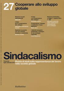 Libro Sindacalismo (2014). Vol. 27