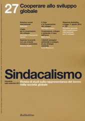 Sindacalismo (2014). Vol. 27