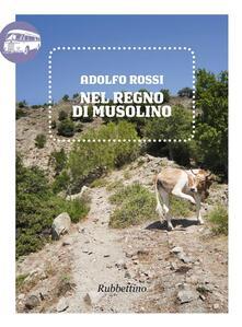 Nel regno di Musolino - Adolfo Rossi - copertina