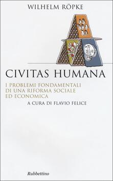 Vitalitart.it Civitas humana. I problemi fondamentali di una riforma sociale ed economica Image