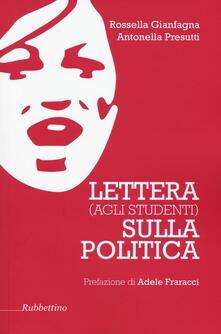 Promoartpalermo.it Lettera (agli studenti) sulla politica Image