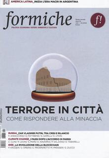 Filippodegasperi.it Formiche (2016). Vol. 110: Terrore in città. Come rispondere alla minaccia. Image