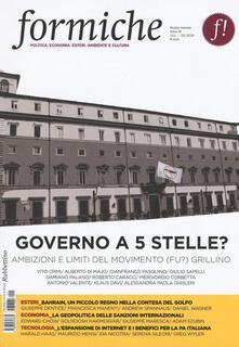 Voluntariadobaleares2014.es Formiche (2016). Vol. 111: Governo a 5 stelle? Ambizioni e limiti del movimento (fu?) grillino. Image