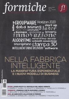 Nordestcaffeisola.it Formiche (2016). Vol. 114: Nella fabbrica intelligente. La manifattura esponenziale e i nuovi modelli di business. Image