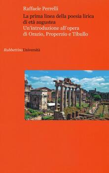 Vitalitart.it La prima linea della poesia lirica di età augustea. Un'introduzione all'opera di Orazio, Properzio e Tibullo Image