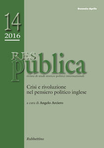 Res pubblica. Rivista di studi storico-politici internazionali (2016). Vol. 1