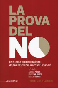 La prova del no. Il sistema politico italiano dopo il referendum costituzionale