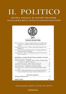 Fondazionesergioperlamusica.it Il politico. Rivista italiana di scienze politiche (2016). Vol. 3 Image