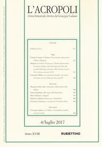 L' acropoli (2017). Vol. 4