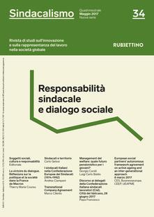 Rallydeicolliscaligeri.it Sindacalismo. Rivista di studi sull'innovazione e sulla rappresentanza del lavoro nella società globale (2017). Vol. 34: Responsabilità sindacale e dialogo sociale (maggio). Image