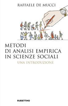Capturtokyoedition.it Metodi di analisi empirica in scienze sociali. Una introduzione Image