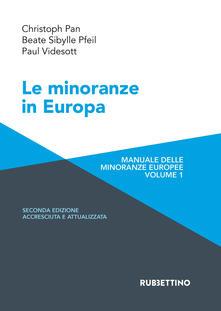 Lpgcsostenible.es Le minoranze in Europa. Manuale delle minoranze europee. Ediz. ampliata. Vol. 1 Image