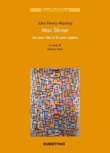 Ristorantezintonio.it Max Stirner. La sua vita e la sua opera Image
