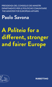 Apoliteia for a different, stronger and fairer Europe