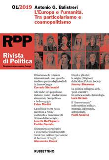 Squillogame.it Rivista di politica (2019). Vol. 1: Europa e l'umanità. Tra particolarismo e cosmopolitismo, L'. Image