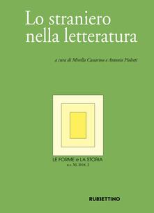 Osteriacasadimare.it Le forme e la storia (2018). Vol. 2: straniero nella letteratura, Lo. Image