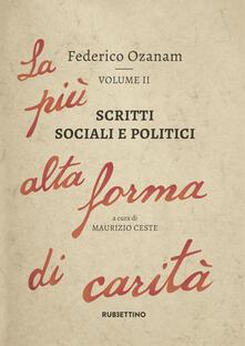 Librisulladiversita.it Scritti sociali e politici. La più alta forma di carità. Vol. 2 Image
