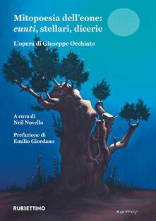 Filippodegasperi.it Mitopoesia dell'eone: cunti, stellari, dicerie. L'opera di Giuseppe Occhiato Image