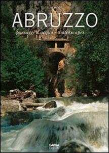 Abruzzo. Paesaggi d'acqua-Waterscapes - Ezio Burri - copertina