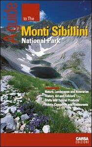 A guide to the Monti Sibillini National Park - copertina