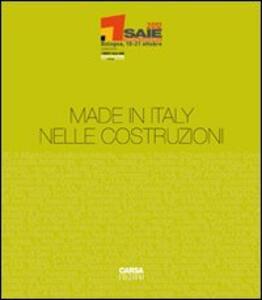 Made in Italy nelle costruzioni - copertina