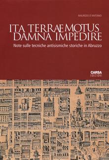 Associazionelabirinto.it Ita terraemotus damna impedire. Note sulle tecniche antisismiche storiche in Abruzzo Image