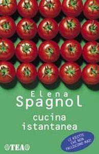 Cucina istantanea - Elena Spagnol - copertina