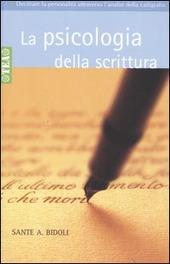 La psicologia della scrittura bidoli sante a libro - Scrittura a specchio ...