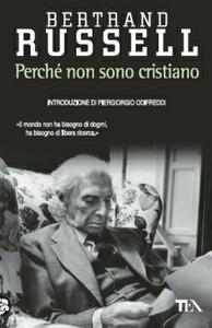 Perché non sono cristiano - Bertrand Russell - copertina