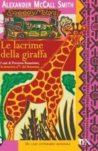 Le lacrime della giraffa - Alexander McCall Smith - copertina