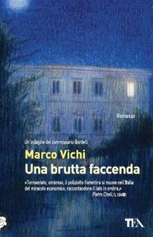 Una brutta faccenda - Marco Vichi - copertina