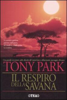 Il respiro della savana - Tony Park - copertina