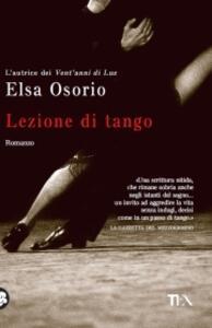 Lezione di tango - Elsa Osorio - copertina