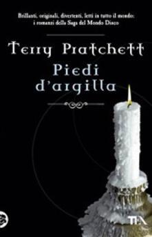 Piedi d'argilla - Terry Pratchett - copertina