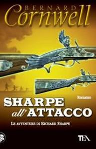 Libro Sharpe all'attacco Bernard Cornwell