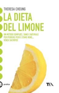 La dieta del limone - Theresa Cheung - copertina