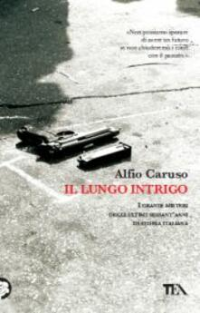 Il lungo intrigo - Alfio Caruso - copertina