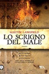 Libro Lo scrigno del male Martin Langfield
