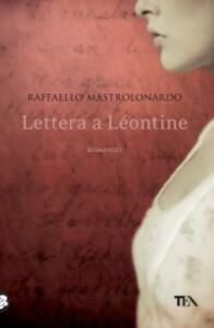 Lettera a Léontine - Raffaello Mastrolonardo - copertina