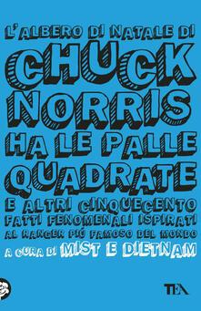 Secchiarapita.it L' albero di Natale di Chuck Norris ha le palle quadrate e altri cinquecento fatti fenomenali ispirati al ranger più famoso del mondo Image